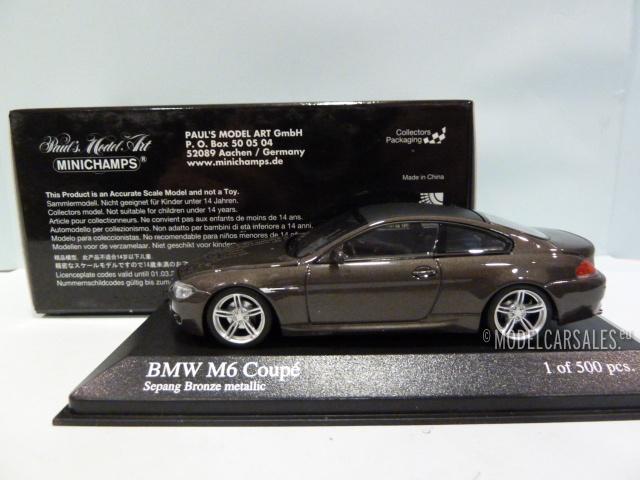 Superbe ... BMW M6 Coupe (e63) ...