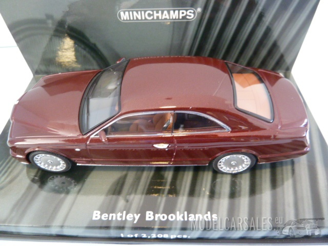 bentley brooklands 1/43 minichamps