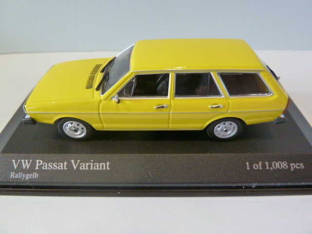 Minichamps 1:43 VW Passat Variant-Yellow