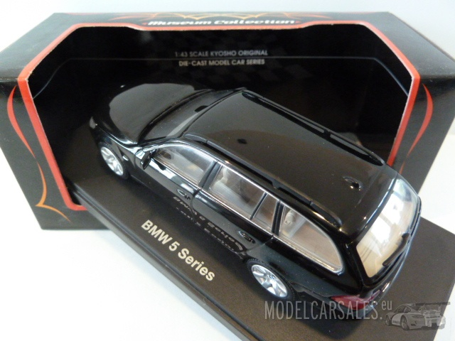 BMW 545i Touring Black 1:43 03502BK KYOSHO diecast model car / scale ...