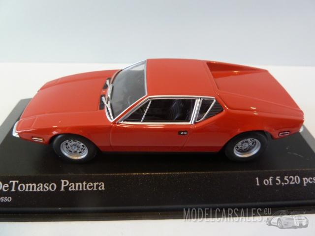 DETOMASO DE TOMASO PANTERA 1972 ROT 1//43 MINICHAMPS 400127500   NEU