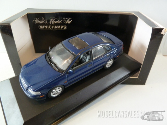Volvo S40 Saloon Blue Metallic 1:43 430171500 MINICHAMPS