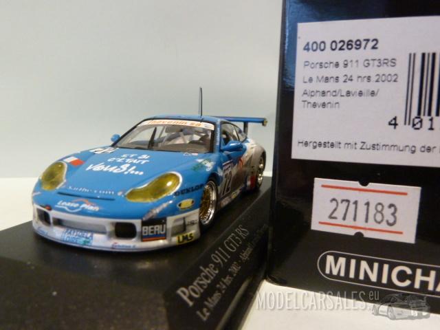 Alphand // Lavielle // Thévenin 24h Le Mans 2002 GT3 RS 1 996 Porsche 911