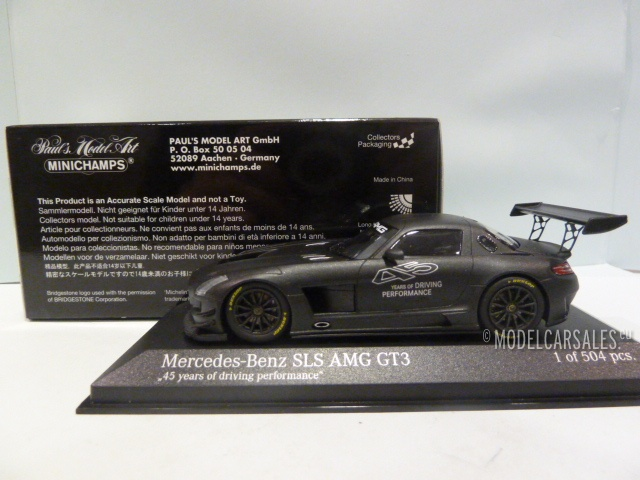 Mercedes SLS  Amg Gt3 2012 45 Years Of Driving Performance 1:43 Model 410133200