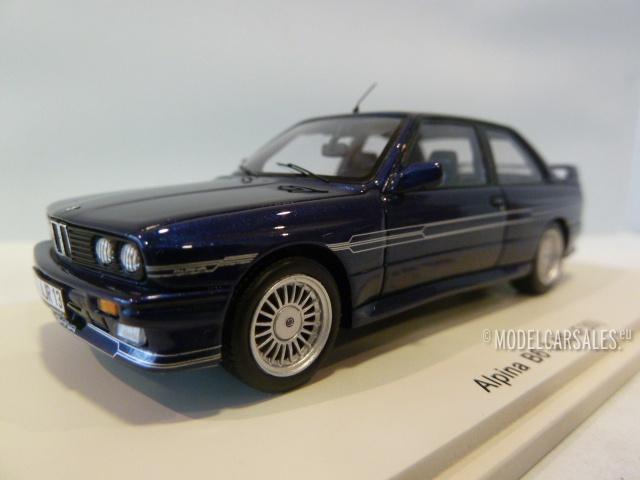 BMW Alpina B S E Dark Blue S SPARK Diecast Model - Bmw alpina b6 for sale