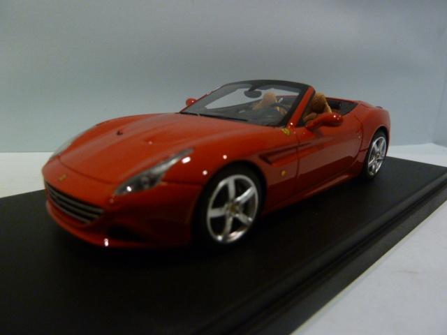 Ferrari California T Spider Red Rosso Corsa 1:43 LS434C LOOKSMART diecast model car / scale ...