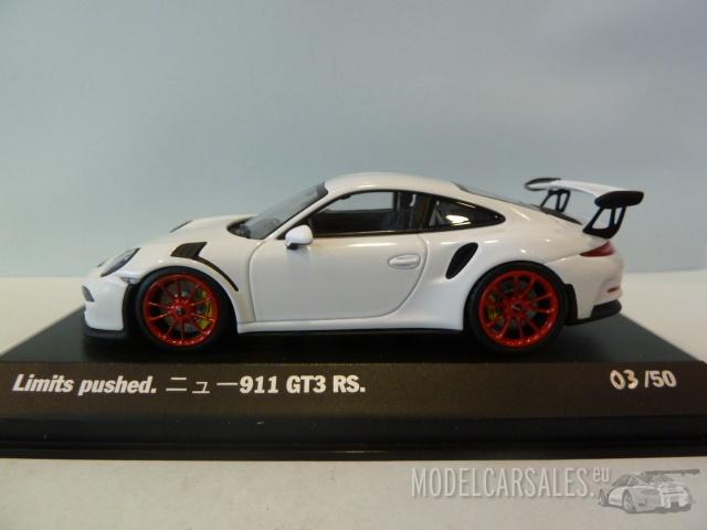 Porsche 911 991 Gt3 Rs Japan Edition 1 43 Wap0200110e Jp Minichamps Diecast Model Car Scale Model For Sale