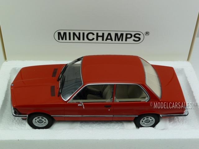 BMW 316 (e21) Red 1:18 107024100 MINICHAMPS diecast model car ...