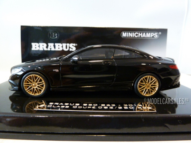 Brabus Mercedes Benz 850 S63 AMG S-Class Coupe
