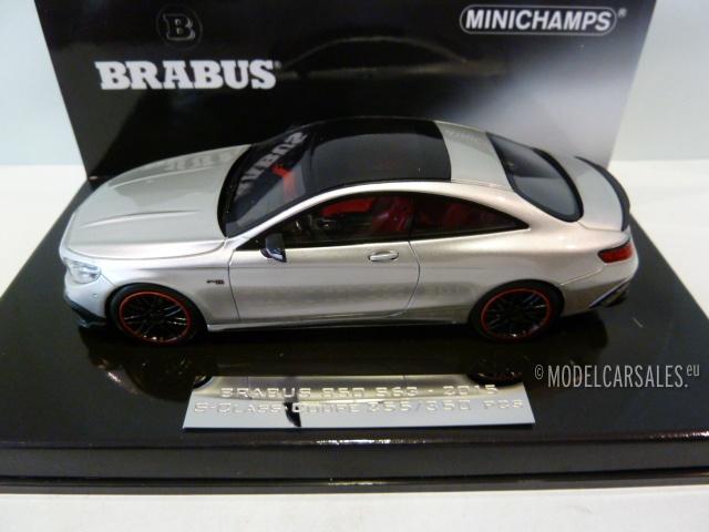 Brabus Mercedes Benz 850 S63 Amg S Class Coupe Grey Metallic 1 43