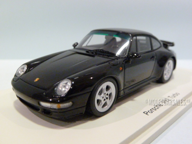 Porsche 993 Turbo noire 1995 1//43 Spark S4476