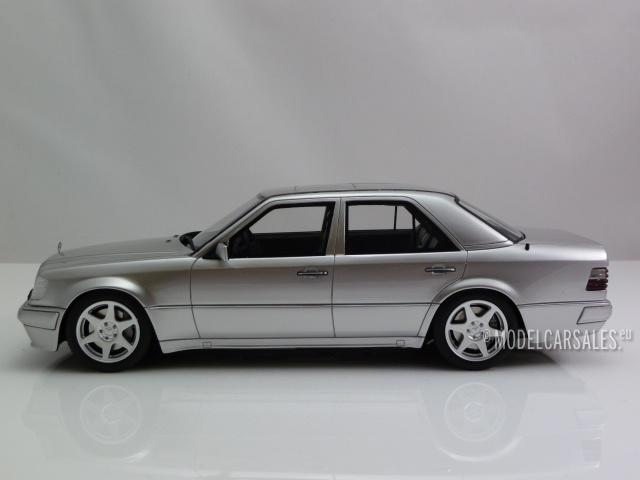 Mercedes Benz E500 (w124) Silver 1:18 OT623 OTTO MOBILE diecast