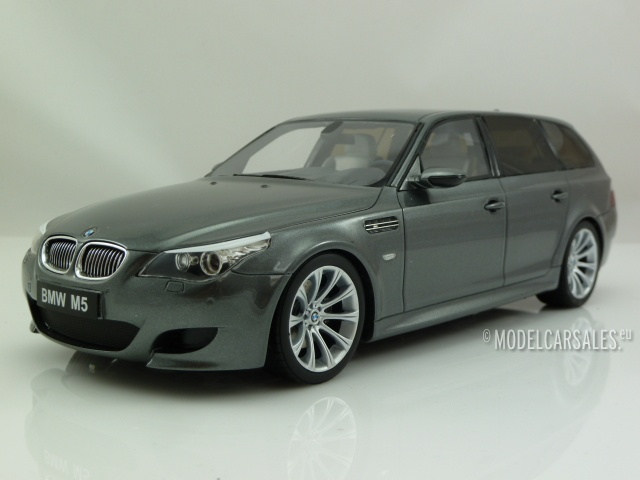 1:87 Herpa bmw 5er e61 Touring Silver dealer New en Premium-modelcars