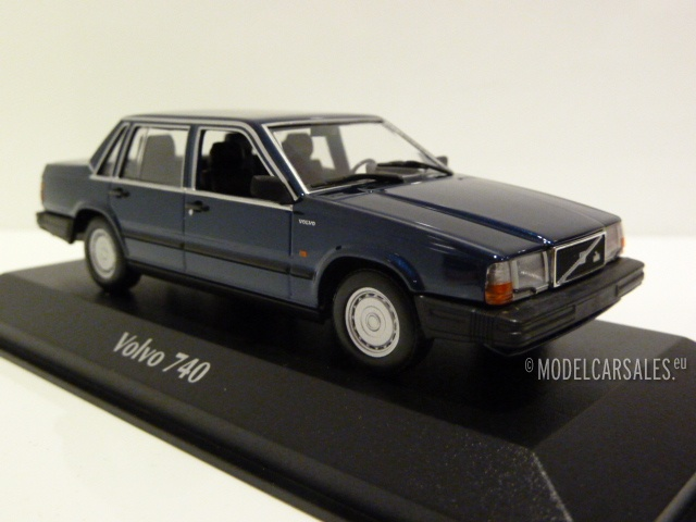 VOLVO 740 GL 1986 DUNKEL GRÜN 1//43 MAXICHAMPS 940171700 NEU