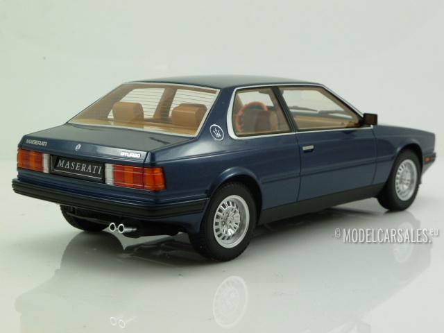 Maserati Biturbo Coupe 1982 rojo resin 1:18 Minichamps nuevo 107123501 embalaje orig