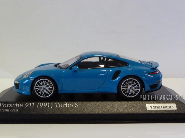 Minichamps 1:87 870067324 GT3 Miami blau 991 II Porsche 911
