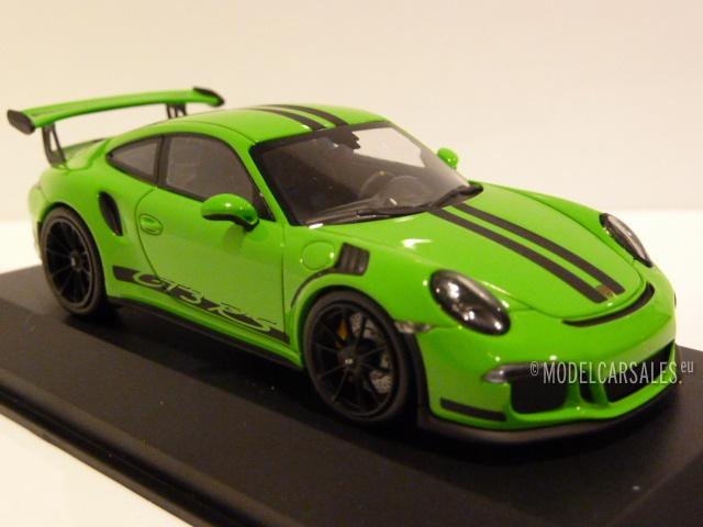 Porsche 911 (991) GT3 RS Green (gelb Grun) W/ Black Stripes