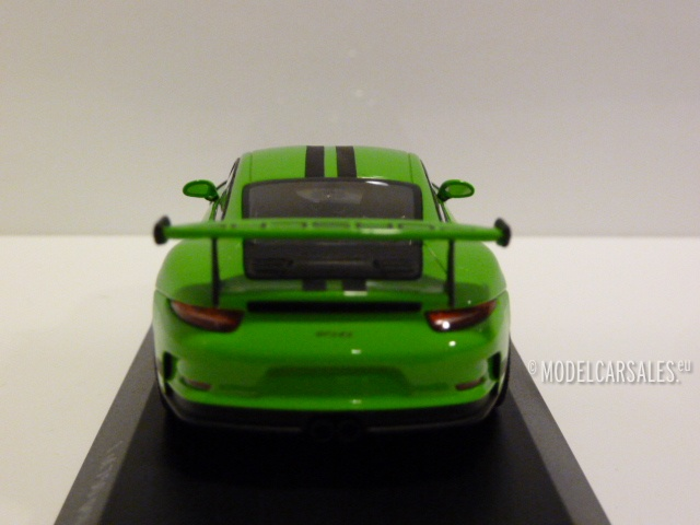 Porsche 911 (991) GT3 RS Green (gelb Grun) W/ Black Stripes 1:43