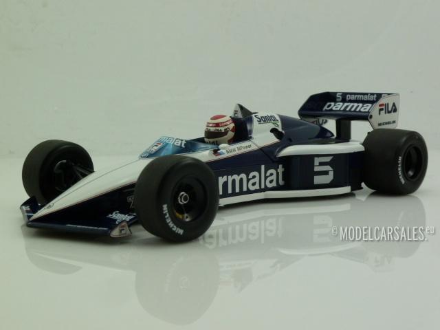 Brabham BMW BT52 #5 F1 World Champion 1:18 183830105 MINICHAMPS ...