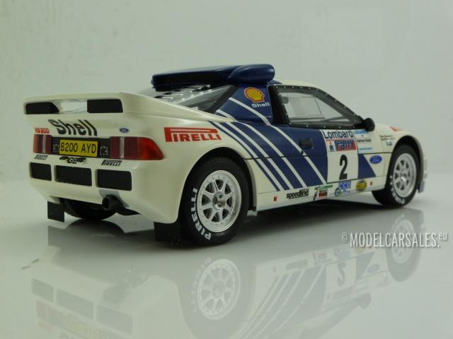 OTTO MOBILE 679 FORD RS200 model rally car RAC Lombard WRC 1986 Limited Ed 1:18