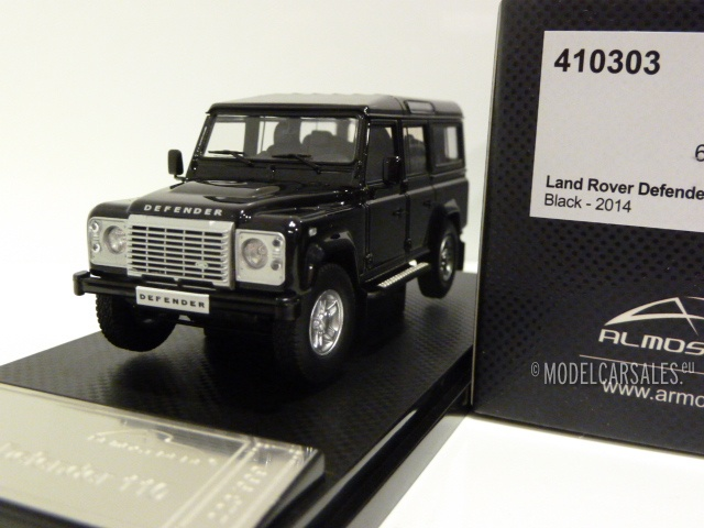 Almost Real 1:43 Land Rover Defender 110 Black 2014 Diecast Car Model
