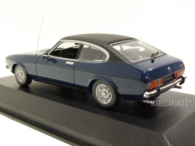Minichamps 940081201 Maxichamps 1:43 1974 Ford Capri II-Dark Blue