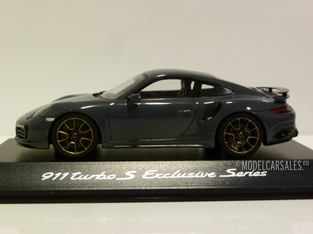 1:18 GT Spirit 049 Porsche 911 991 Turbo S TECHART weiss
