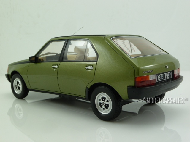 Otto Models 712 Renault 14 TS 1983 green 1:18 limited 1//999