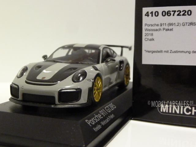 Porsche 911 991 Ii Gt2 Rs Weissach Package 1 43 410067220 Minichamps Diecast Model Car Scale Model For Sale