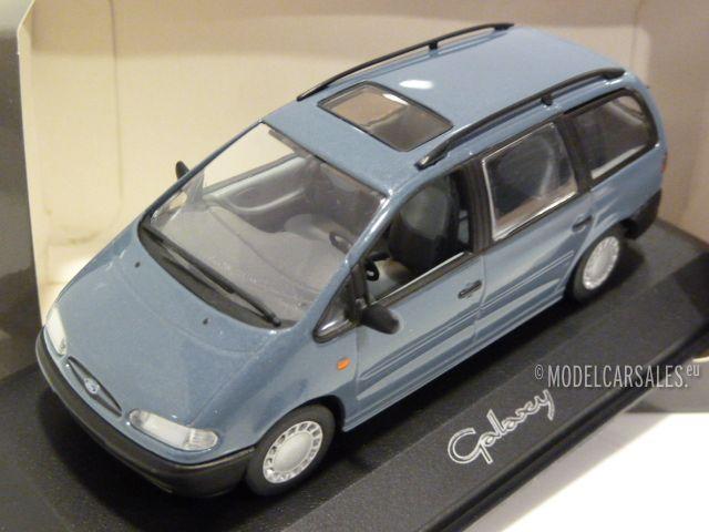 1:43 Minichamps Ford Galaxy anthrazit 2006 Werbemodell