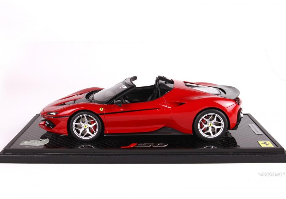 Ferrari J50 Carbon Base 118 P18156CFB BBR diecast model car