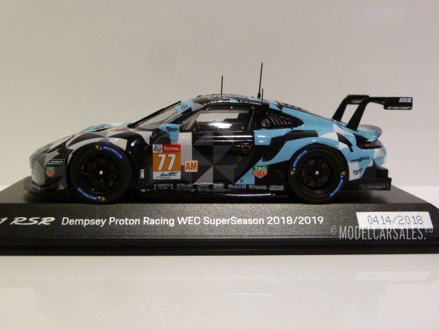 1:43 Spark Porsche 911 rsr Dempsey proton racing #77 WEC superseason 18//19 vendiendo
