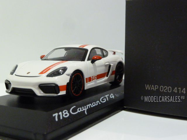"Minichamps wap0204140lexc # Porsche 718 cayman gt4 /""Sports Cup Edition/"" 1:43"