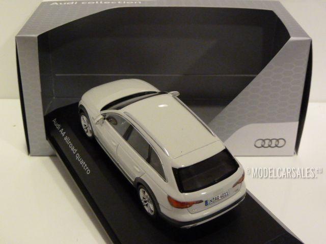 1:43 Spark Audi A4 Saloon 2015 greymetallic