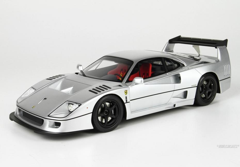 Ferrari F40 Lm By Michelotto Silver 1 18 P18169b1 Bbr Diecast Model Car Scale Model For Sale