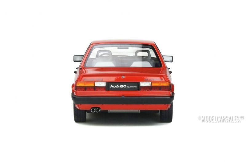 Audi 80 quattro B2 Baujahr 1983 rot Mars red 1:18 OttOmobile Otto OT 339 NEU