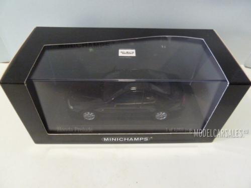 Honda Prelude Black 1:43 400161921 MINICHAMPS Diecast