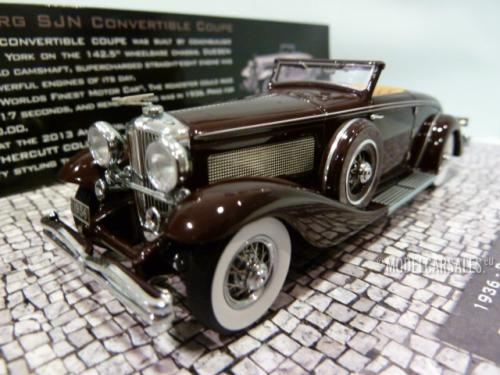Duesenberg SJN (supercharged) Convertible Coupe