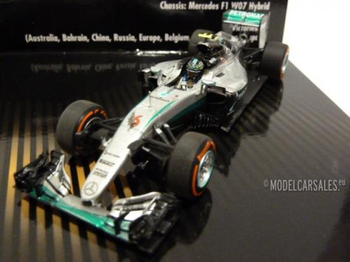 Williams / Mercedes Benz Ford FW08 / AMG W07 Hybrid