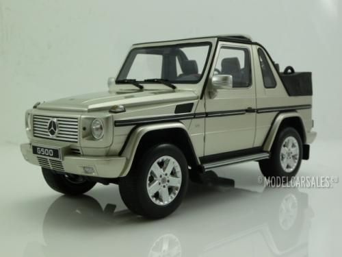 Mercedes-Benz G500 Cabriolet • 1 of 500 • 2007 • NEU • Otto OT766 • 1:18