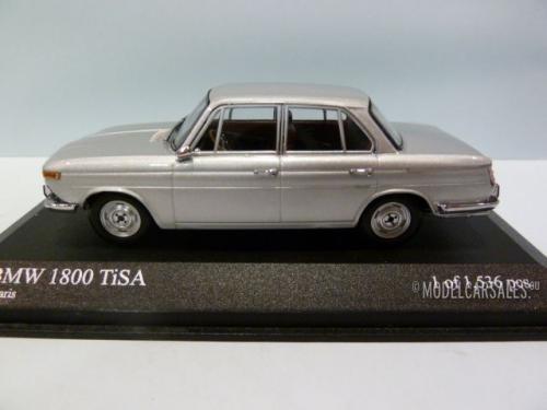 bmw 1800 tisa silver 1 43 400025100 minichamps diecast model car scale model for sale. Black Bedroom Furniture Sets. Home Design Ideas
