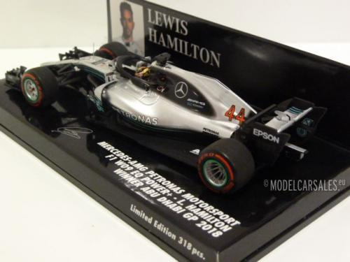 Mercedes-benz AMG Petronas Motorsport F1 W09 EQ Power+